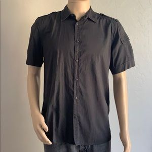 Diesel Short Sleeve button front shirt Large